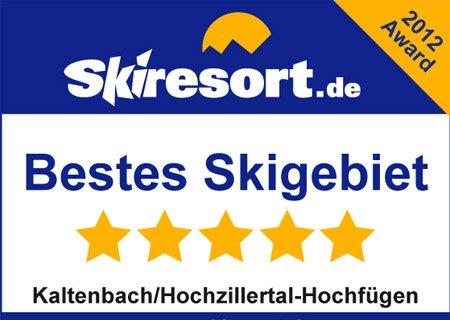 Bestes Skigebiet Saison 2012 Hochfuegen