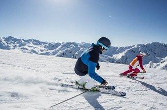Der Pistenplan des Skigebiets Hochfügen im Zillertal gibt Auskunft über geöffnete Anlagen