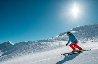 Skifahren im Skigebiet Hochfügen auf top präparierten Pisten