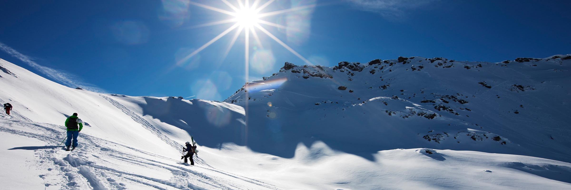 Das aktuelle Wetter beim Skifahren im Winterurlaub in Hochfügen im Zillertal
