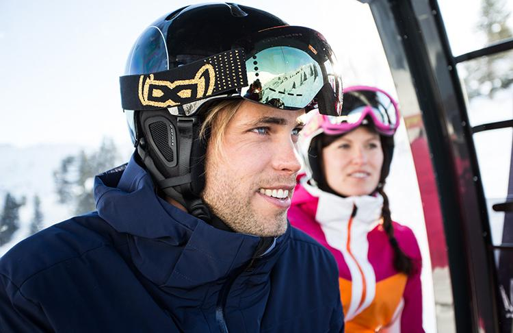 Skiticket Billet Gondel Skilift Skifahrer