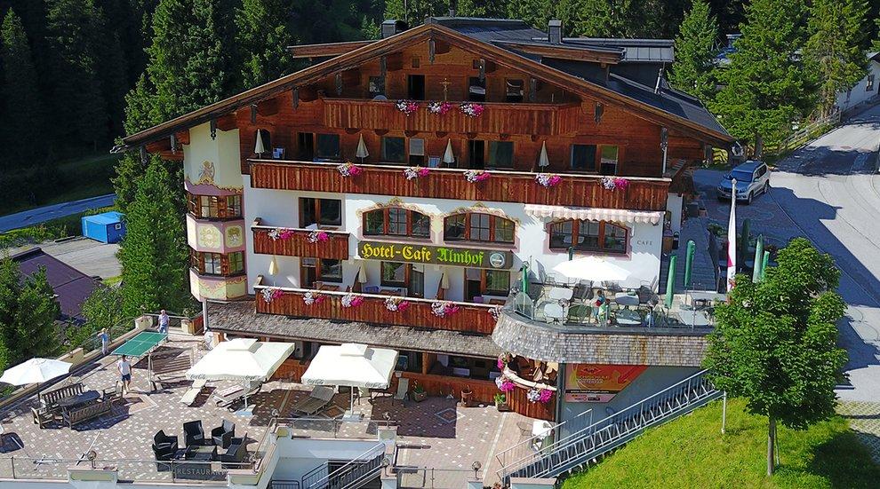Hotel Almhof Hochfügen Sauna Spa Urlaub Sommer Winter