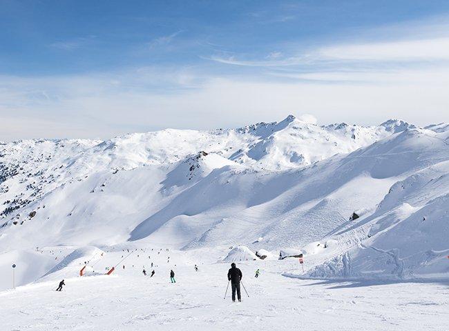 Skiparadies Winterurlaub Skigebiet Zillertal