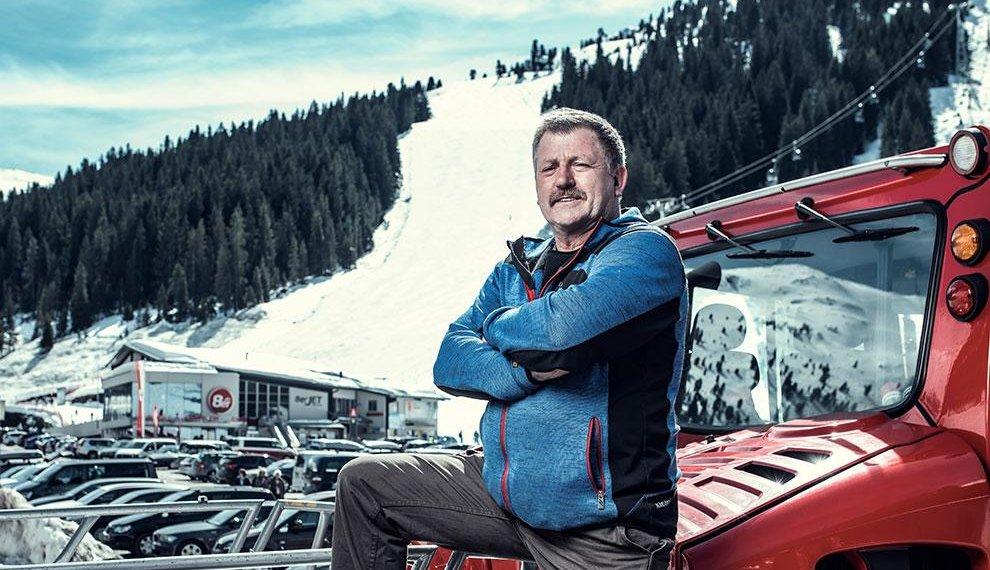 Pistenbully Schnee Pistenpräparierung Zillertal