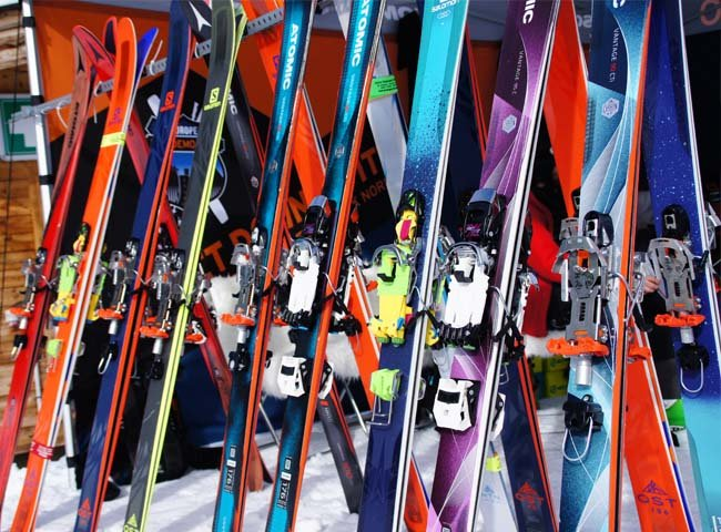Telemarkski alternative Skisport Wintersport Skigebiet