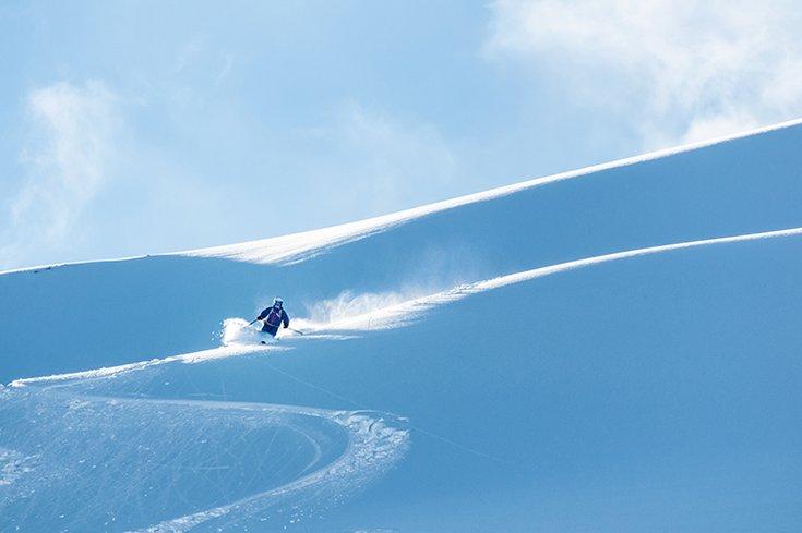 Frühlingsskifahren Hochfügen Firn Skiregion Zillertal Skifahren Winterspaß