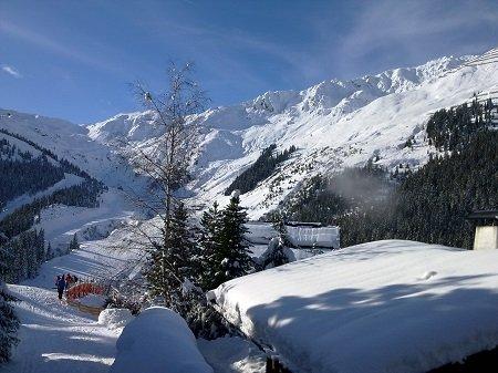 Thaler Hütte Piste Hochfügen ski-in-ski-out