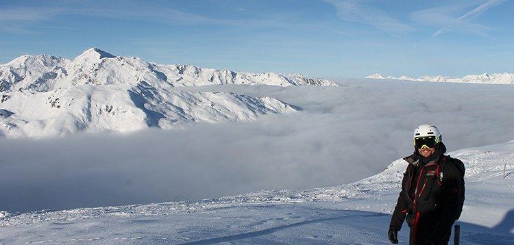 Zillertal Schnee Skifahren Skigebiet Bergkulisse