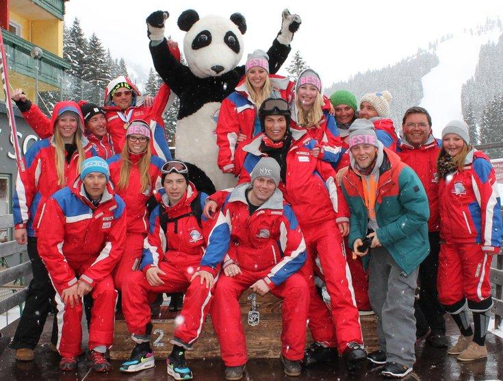 Skilehrer Feier Skigebiet Hochfügen Skischule Total
