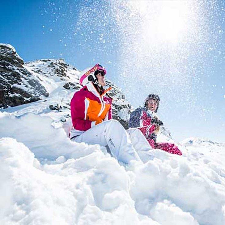 Skifahren Hochfügen Skiregion Zillertal Fitness Schnee Gesundheit Winterspaß