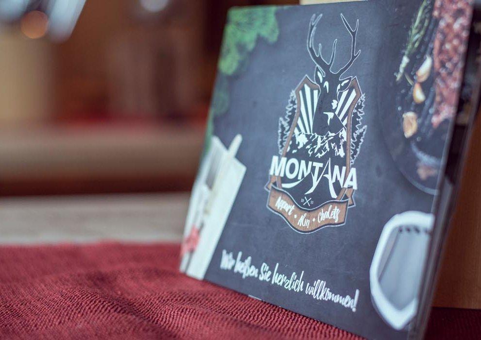 Hochfügen Montana Alm Speisekarte Zillertal Restaurant Apres-Ski