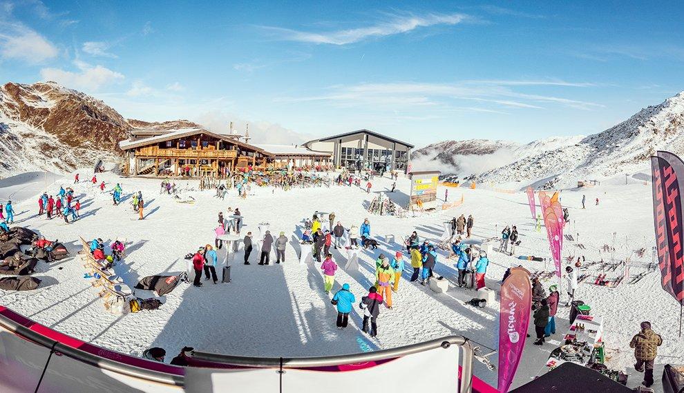 Hochfügen Auftakt Snowlicious BMW Mountains Event