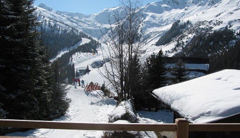 Terrasse Sonne Schnee Urlaub Buchen Zimmervermietung