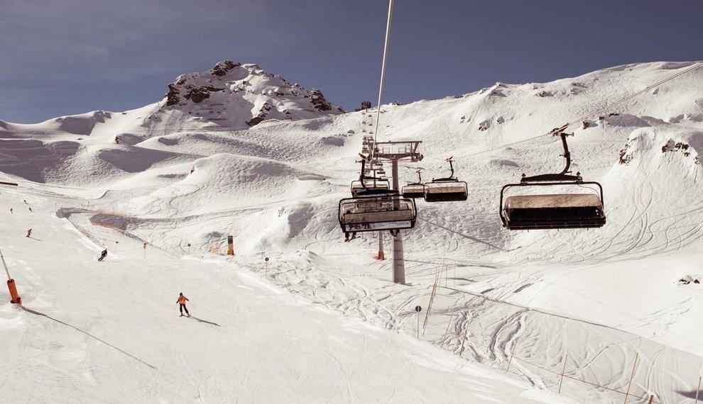 Funline Skifahren Boardercross Hochfügen Skipiste Skifahren Zillertal